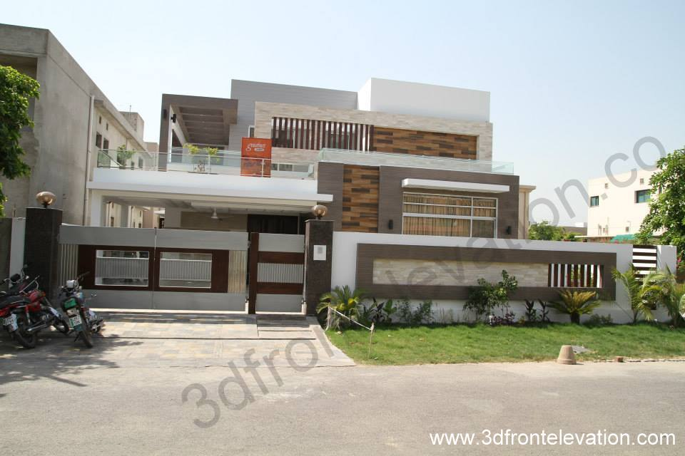 Front Elevation Of 1 Kanal House : D front elevation kanal house for sale in bahria
