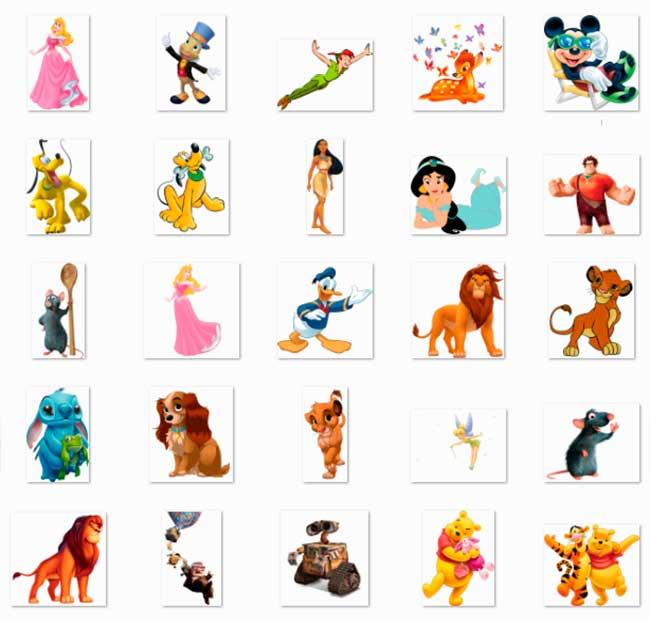 100 PNG Disney Character Images Preview 04