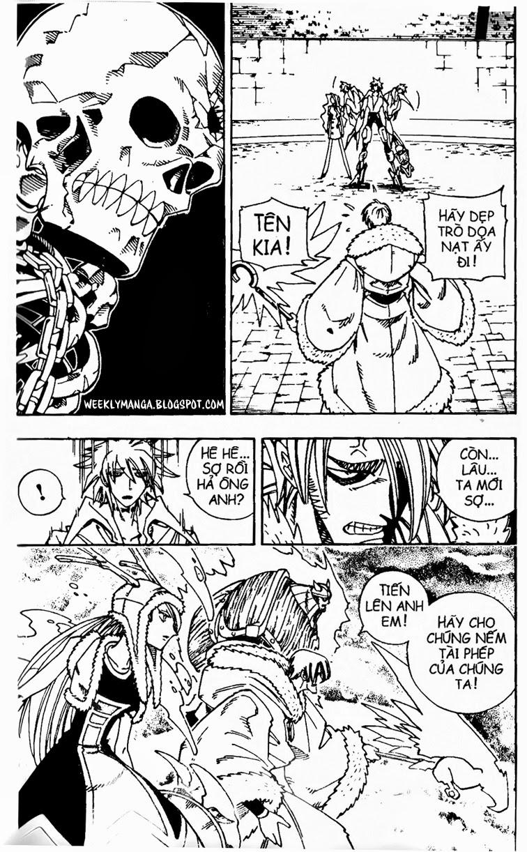 Shaman King [Vua pháp thuật] chap 130 trang 7