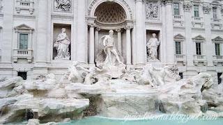 guia turismo portugues fontana trevi - Praças e Fontes de Roma