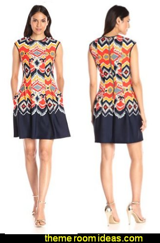 Gabby Skye Women's Printed Dress