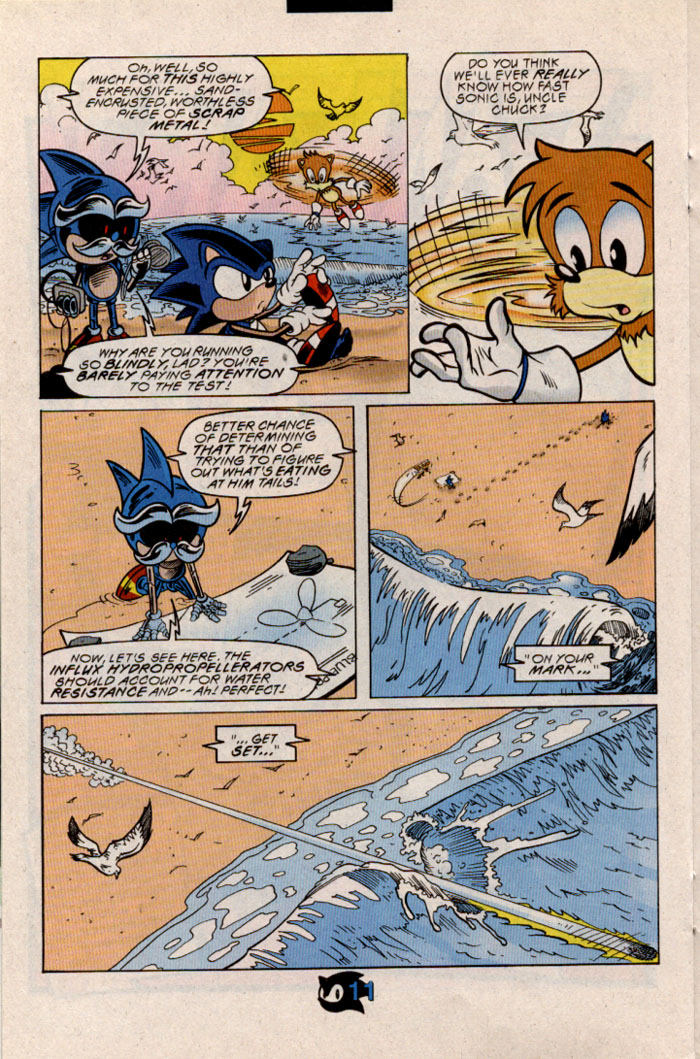 Read online Sonic The Hedgehog comic -  Issue #54 - 14