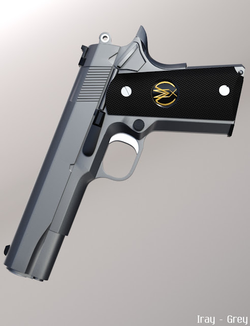 MMX-45ACP Pistol with Accessories