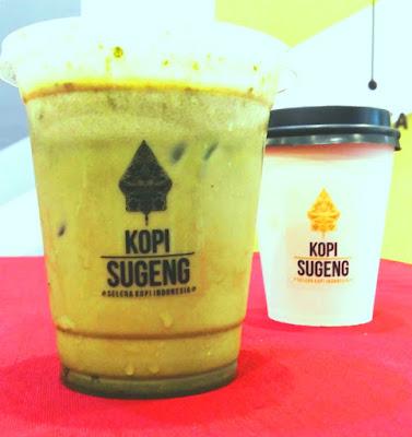 Menu Avocado Coffee Ice dan Cappucino Hot dari Kopi Sugeng