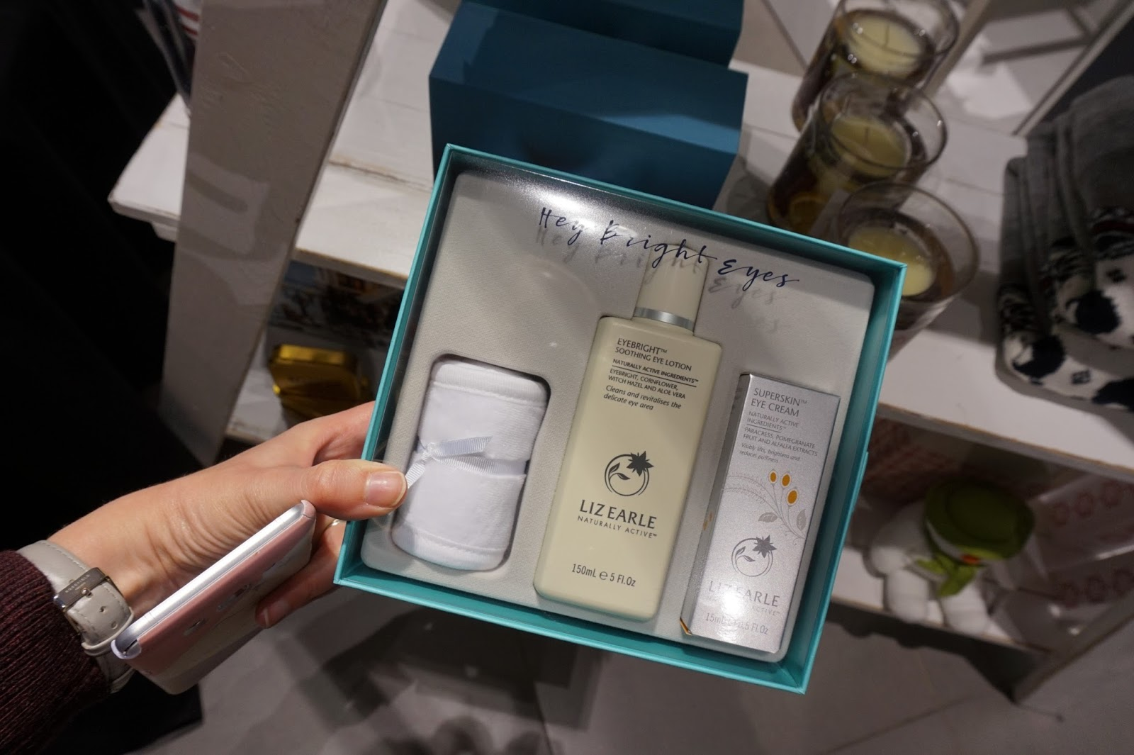 Liz Earle Hey Bright Eyes Giftset