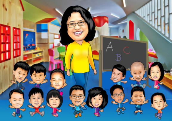 Buku Absensi Harian Anak PAUD TK KB TPA