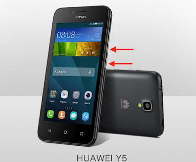 come salvare screenshot huawei y5