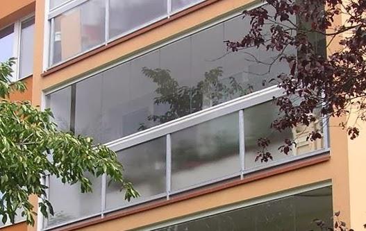 Zasklení balkonu OPTIMI zvenku
