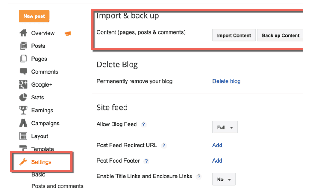 How To Take Complete Backup of BlogSpot blogs