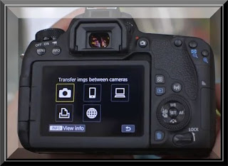 Canon Eos 77D Connecting to a Printer Via Wi-Fi