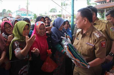 Pemprov Lampung Gelar Pasar Murah Di Lampung Barat