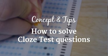 How to Solve Cloze Test Questions in Exam - Concept and Tricks
