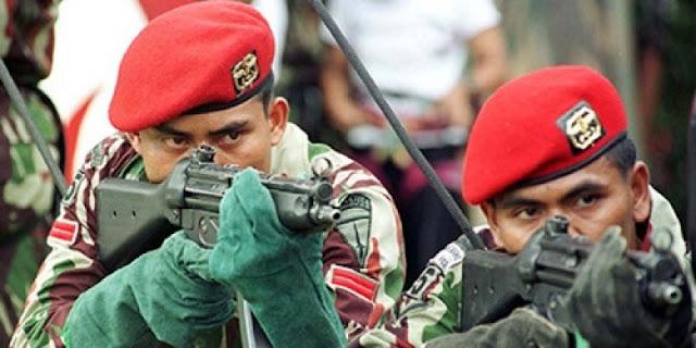 Kopassus Diterjunkan Dalam Penggerebekan Teroris di Sejumlah Daerah