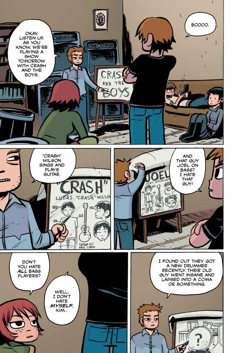 Read online Scott Pilgrim comic -  Issue #1 - 106
