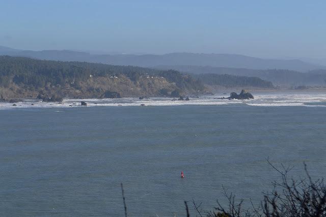 waves pounding onto the coast