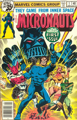 The Micronauts #1