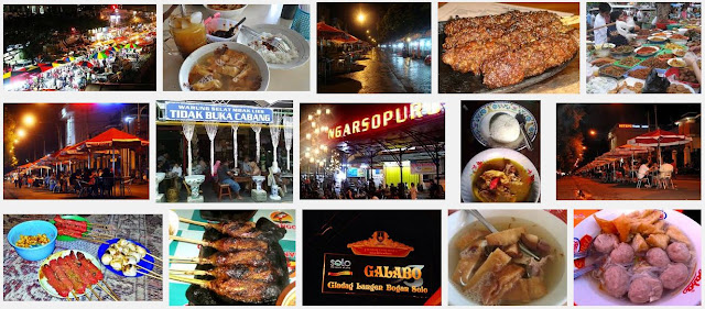 Daftar Tempat Wisata Kuliner di Solo