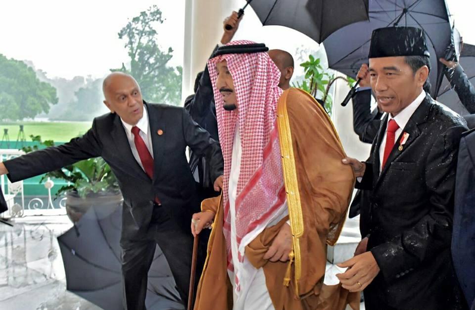 Presiden Iri Dengan Perlakuan Raja Salman Terhadap China