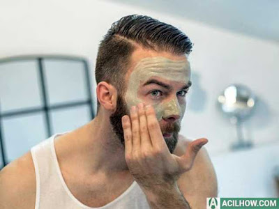 10 Cara Mengecilkan Pori Pori Wajah Pria - Acilhow.com