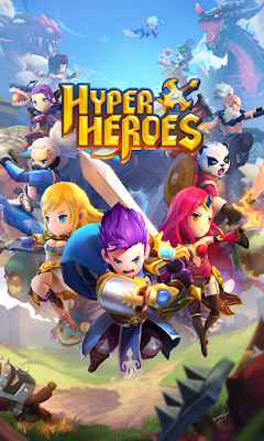 Hyper Heroes v1.0.6.41011 Mod Apk + Data (God Mode + High Damage)