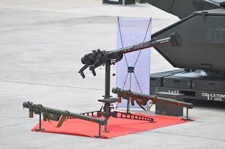 Uji Tembak Rudal Chiron TNI AU