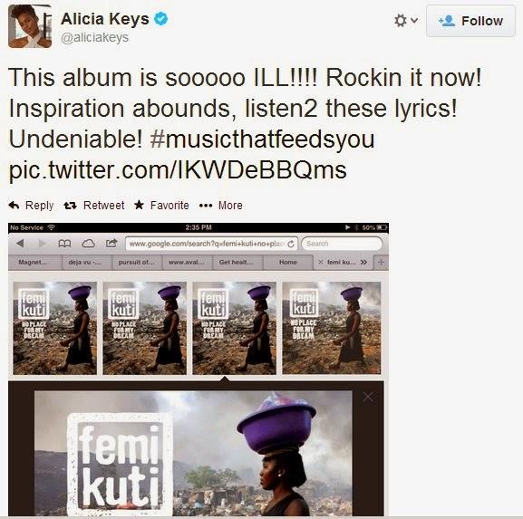 femi kuti no place for my dreams lyrics