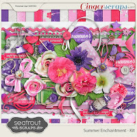 Summer Enchantment by Seatrout Scraps