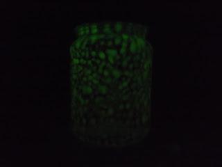 Foszforeszkáló üveg