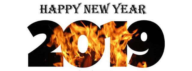 ảnh bìa chúc mừng năm mới đầy lửa và nhiệt huyết