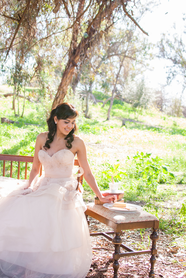 fairytale+wedding+bride+groom+bridal+pink+wedding+dress+gown+outdoor+rustic+woodland+spring+summer+hipster+vintage+our+hearts+photography+9 - Ten Year Itch