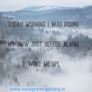 funny instagram captions on alarm and dream
