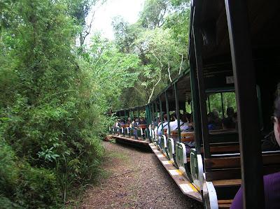 Tren Ecológico de la selva, Cataratas de Iguazú, Argentina, vuelta al mundo, round the world, La vuelta al mundo de Asun y Ricardo