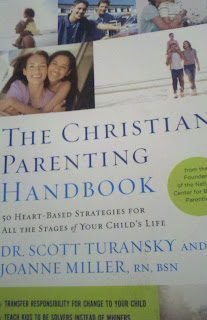 book review, The Christian Parenting handbook, Dr. Scott Turansky, Joanne Miller, Christian book, book on parenting