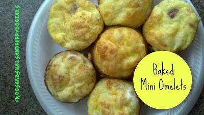 Baked Mini Omelets