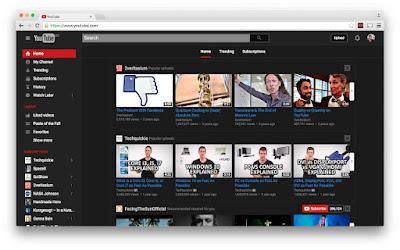 Cara Mengaktifkan Fitur Dark Mode di YouTube