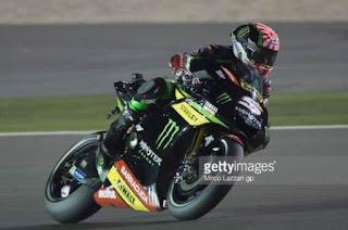 Zarco Tercepat FP4 MotoGP Mugello Italia 2017, Rossi P2