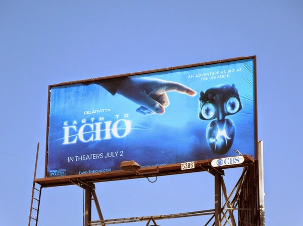 Earth to Echo movie billboard