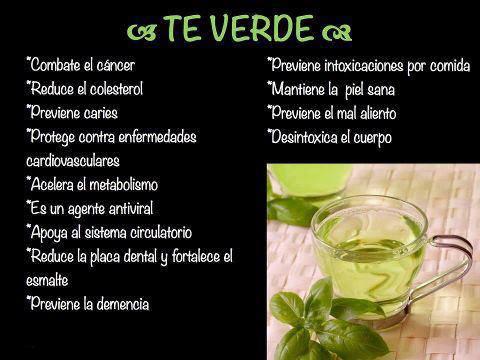 Te verde con bicarbonato para adelgazar