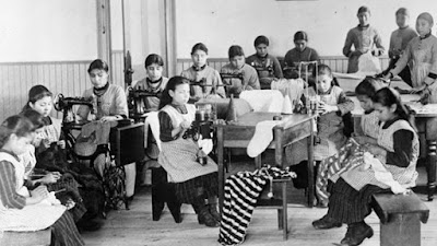 Children in residential school