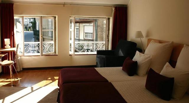 Hotel Mestre de Avis em Guimarães - quarto