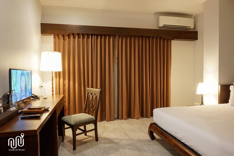 รีวิวเดอะบริดจ์ เรสสิเดนซ์ (The Bridge Residence Hotel) โรงแรมใกล้สะพานแม่น้ำแควกาญจนบุรี