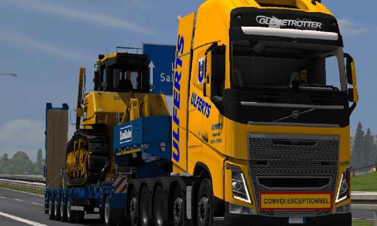 تحميل لعبة Euro Truck Simulator 2 مع التحديثات للكمبيوتر برابط مباشر