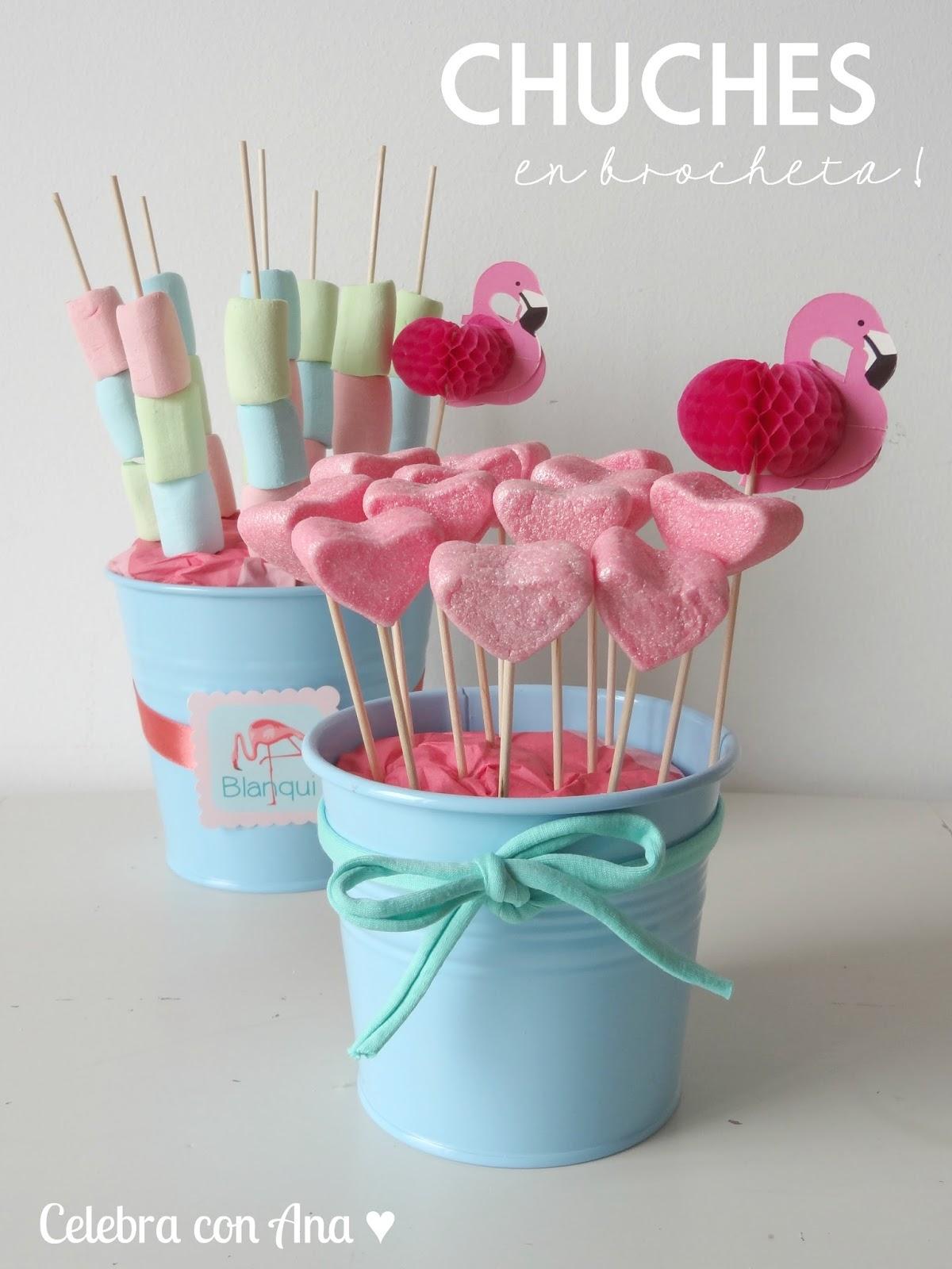 Celebra con ana compartiendo experiencias creativas - Ideas para decorar mesas de chuches ...