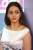 Actress Pooja Salvi Stills in White Dress at SIIMA Short Film Awards 2017 .COM 0183.JPG