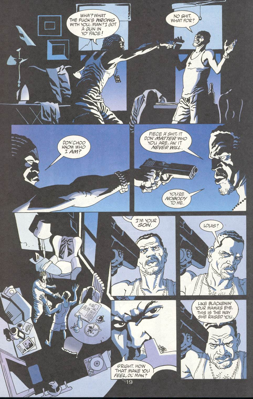 Read online 100 Bullets comic -  Issue #15 - 21