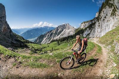 Biken im Karwendel mtb