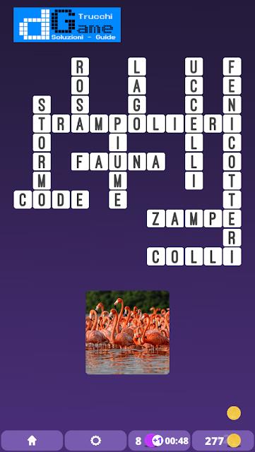 Soluzioni One Clue Crossword livello 3 schema 5  (Cruciverba illustrato)  | Parole e foto