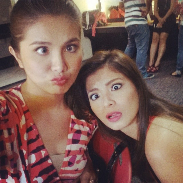 Angel Locsin Proves She Knows Dimples Romana Too Well!