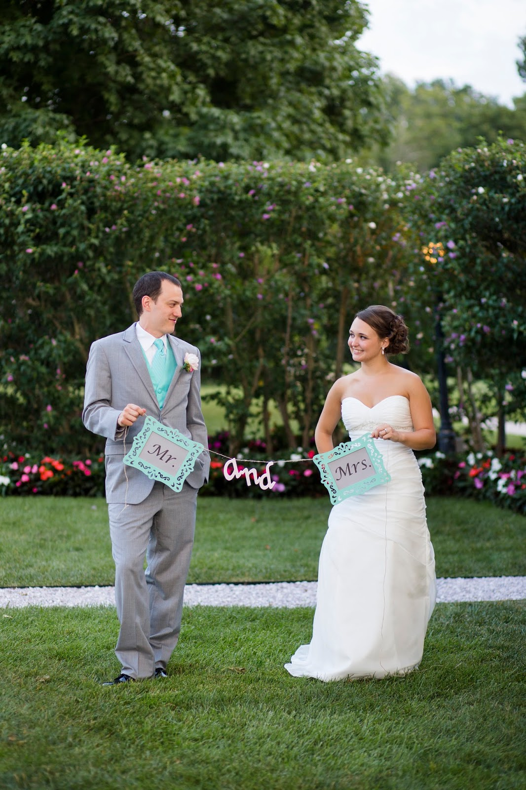 Wedding Wednesday- Mr. & Mrs. banner