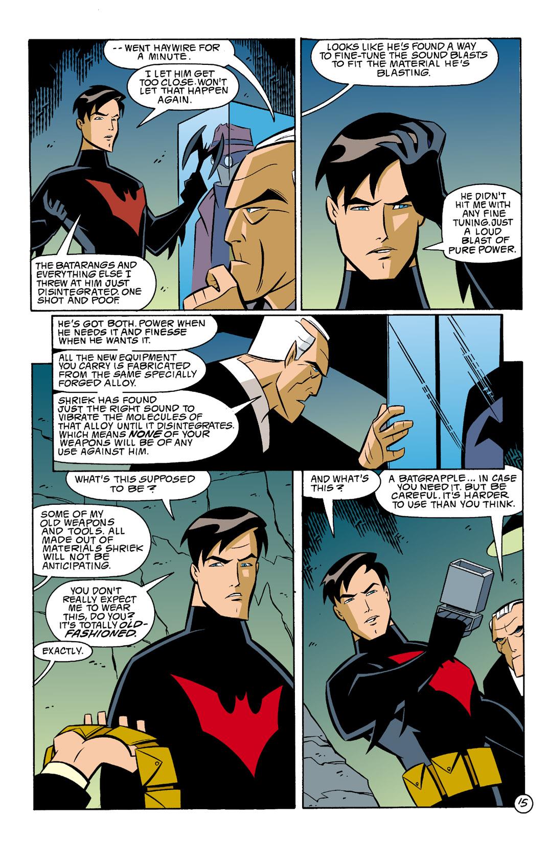 Batman Beyond [II] Issue #5 #5 - English 16